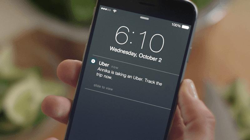 uber notifications