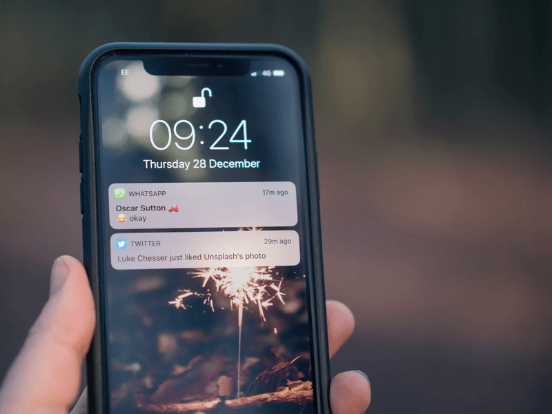 push notifications on a phone