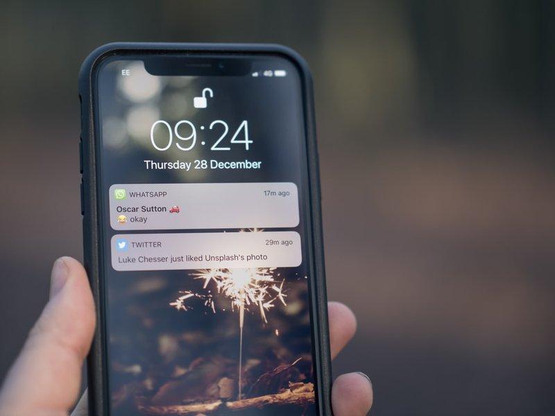 push notification lock screen